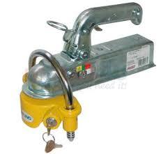 ball hitch lock. heavy duty 50mm ball socket hitch lock d