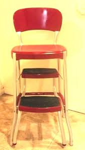 retro stepping stool vintage kitchen step stool chair enchanting kitchen step stool step stool chair vintage retro stepping stool folding kitchen