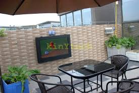 outdoor enclosure projector projection screens tripod type tv ideas backyard patios outdoor concert with projection tv