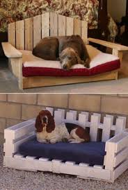Wooden Dog Bed Ideas