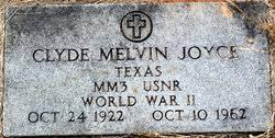 Clyde Melvin Joyce (1922-1962) - Find A Grave Memorial