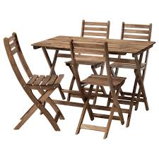 Patio Furniture Kitchener Askholmen Table And 4 Chairs Outdoor Ikea