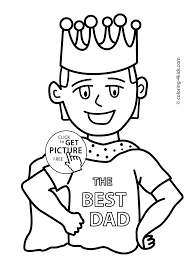 Small Picture Fathers Day coloring pages for kids fathers birthday printable