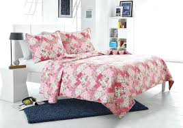 save pink fl patchwork quilt set style cherry hill collection bedding sets duvet cover pattern