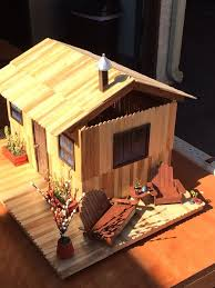 popsicle stick house plans new 406 best popsicle stick art crafts images on of