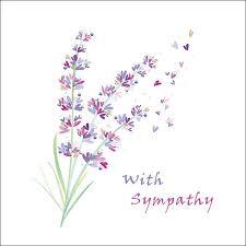 Sympathy Card Lilac