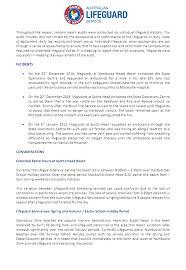 Lifeguard Incident Report Tutar Opencertificates Co