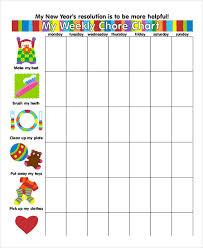 Chore Chart Samples 8 Chore Chart Examples Samples