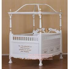 Classic Canopy Baby Crib