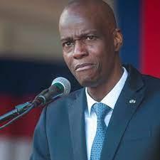 President of Haiti Jovenel Moise ...