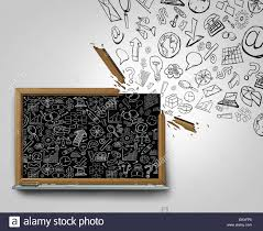 outside the box office. Wonderful Outside Business Plan Communication Outside The Box Concept As A Blackboard With  Financial Office Icons Sketched On Surface Breaking Away Broken Frame  For Outside The Box Office