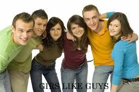 4 girls 2 guys