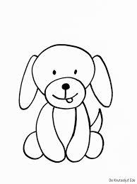 Beste Schattige Honden Kleurplaten Kleurplaat 2019
