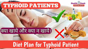 Typhoid Fever Diet Chart In Hindi