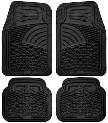 Car Floor Mats for All Weather Rubber 4pc Set Tactical Fit Heavy
