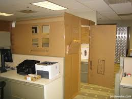 cardboard office furniture. Handmade Office Filled With DIY, Made Cardboard Furniture
