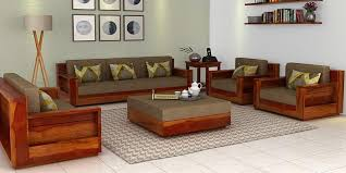 sofa set furniture design. Wooden Sofa Set To Enhance Your House Beauty Furniture Design O