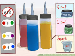 image titled tie dye a shirt the quick and easy way step 3