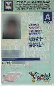 Wikipedia Licence Mexico - Driving In