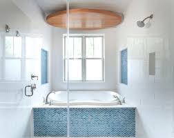 tile on shower ceiling turquoise blue and aqua glass tiles cottage aqua glass bathtubs