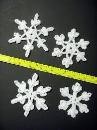 Crochet Snowflake Pattern Impressive Ravelry Four Tiny Snowflakes Pattern By Christine Blair