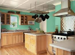 kitchen paint color ideaskitchen paint color ideas blue green  Decor Crave