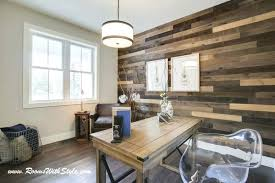 ship lap wall home office with accent wall shiplap wall cost