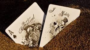 Skeleton Playing Cards Wallpaper ...
