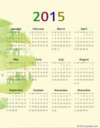Simple 2015 Calendar 2015 Calendars Simple Design For Calendar 2015 Clip Art 2016