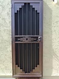 metal security screen doors. Picture Gallery Of Iron Security Door, Pick The Most Effective One Metal Screen Doors L
