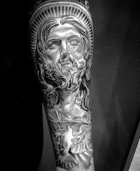 50 Ježíšové Předloktí Tetování Vzory Pro Muže Kristus Inkoustové
