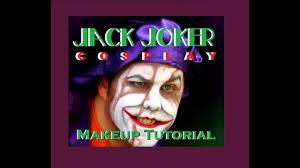 jack nicholson joker makeup run through