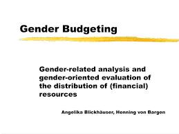 Ppt Gender Budgeting Powerpoint Presentation Id 990680