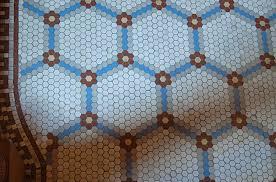amazing hexagon floor tile