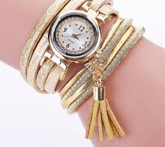 new fashionable leather bracelet watch free while supplies