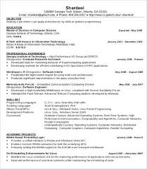 Internship IT Resume