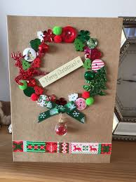 Scrapbooking Christmas Cards Designs Homemade Christmas Card Christmas Cards Handmade Kids