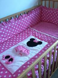 baby minnie mouse crib bedding set disney baby bedding sweet minnie mouse 3 piece crib bedding set
