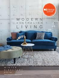 oz furniture design. MODERN AUSTRALIAN LIVING - OZ Design Furniture Winter 16 Directory By Oz Issuu