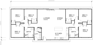 Small Picture 6 Bedroom Transportable Homes Floor Plans