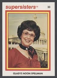 Gladys Noon Spellman Supersisters Trading Card   US House of ...