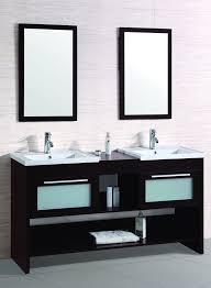 72 Inch Bathroom Vanity Double Sink Custom Contemporary Bathroom Vanity Legion WT48R Espresso Finish