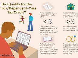 Child and Dependent Care Tax Credit ...