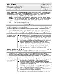 13+ software architecture resume