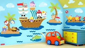 pirate wall decor new pirate wall decor home decoration ideas fisher pirates decal stickers ship