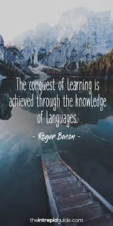 40 Awesome Inspirational Quotes For Language Learners The Intrepid Delectable Quotes On Learning