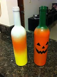 Ideas To Decorate Wine Bottles Wine Bottle Jackolanterns 100 Steps with Pictures 67
