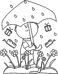 Small Picture Coloring Pages Rain And Page itgodme