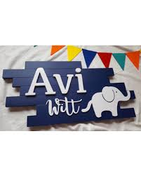 modern name plaque cursive name sign elephant nursery decor name on wooden elephant wall art nursery with hot summer bargains on modern name plaque cursive name sign