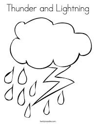 lightning coloring pages. Contemporary Coloring Rain And Lightning Coloring Page To Pages Twisty Noodle